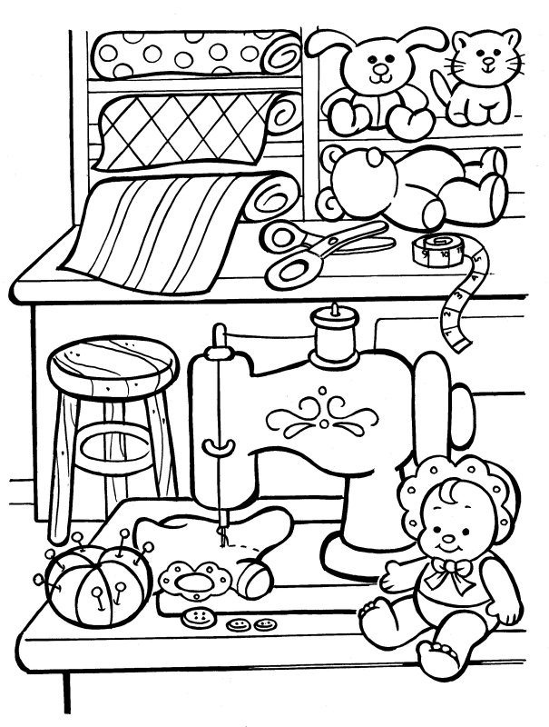 25 christmas toys colouring pages page 2